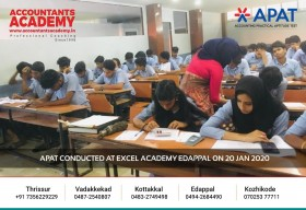 A clear ambition followed by action is what sets you apart from the rest. APAT conducted at Excel Academy Edappal on 20 Jan 2020.