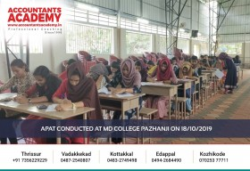 Awareness is important. To make the right choice! APAT conducted at MD College Pazhanji on 18th October 2019.