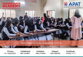 Walk in the right direction and conquer your dream career. APAT conducted at MES Ponnani on 25th November.