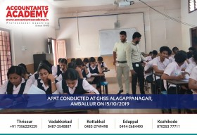 Time to clear up confusion for unveiling the endless possibilities in Accounting & Commerce. APAT conducted at GHSS ALAGAPPANAGAR, AMBALLUR ON 15th October 2019.