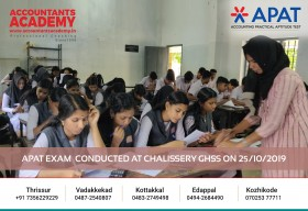 Abilities are to be tested & evaluated, to bring out the best. APAT Exam conducted at Chalissery GHSS on 25th October