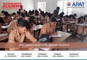 Dreams can come true if you work hard for it! APAT conducted at GVHSS Vengara on 4th November.