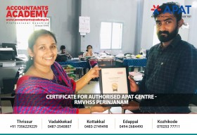 Certificate for Authorized APAT Centre. We appreciate the efforts taken by various educational institutions, for the successful execution of APAT.