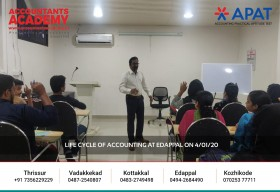 Channel your inner Accountant with Accountants Academy. Life Cycle of Accounting at Edappal on 4th January 2020.