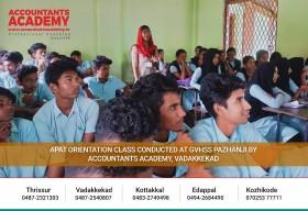 Their curiosity was very welcoming!  APAT Orientation Class Conducted at GVHSS Pazhanji by Accountants Academy, Vadakkekad