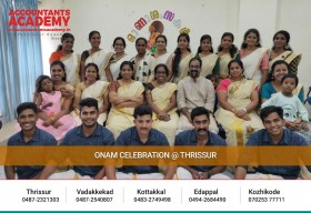 A splendid day with our dearest children!A day well spent@Accountants Academy, Thrissur