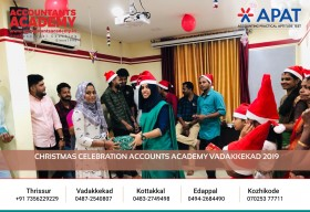 The real joy of Christmas is to celebrate each moment with our closest pals. #AccountantsAcademy #HappyChristmas #Christmas2019