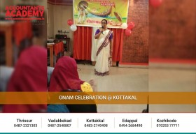 Thank you all,for adding essence to our Onam celebration at Accountants Academy Kottakkal