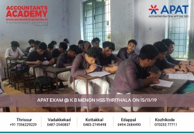 Set your goal straight and go for it. APAT conducted at K B Menon HSS Thrithala on 15th November.
