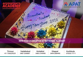 New Year Celebration at Accountants Academy Kottakkal
