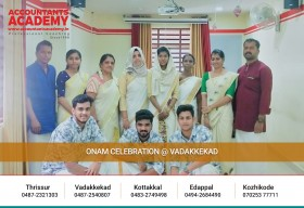 Together we stay,creating future and unforgettable memories@Accountants Academy Vadakkekad