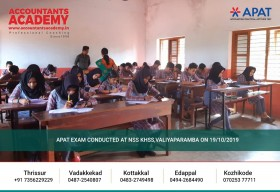 Try hard! You will never know how your future would have turned out otherwise! APAT conducted at NSS KHSS Valiyaparamba on 19th October 2019.